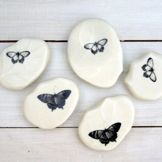 Caress Butterfly Pebble